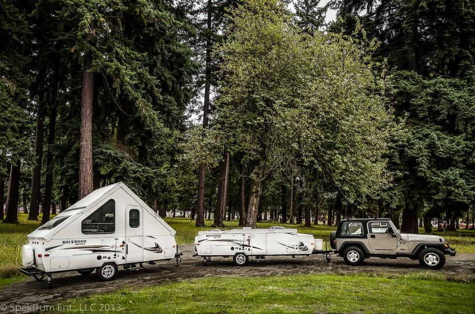 The Rockwood Hard Side Tent Trailer