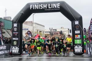 Couve Clover Run Start and Finishline