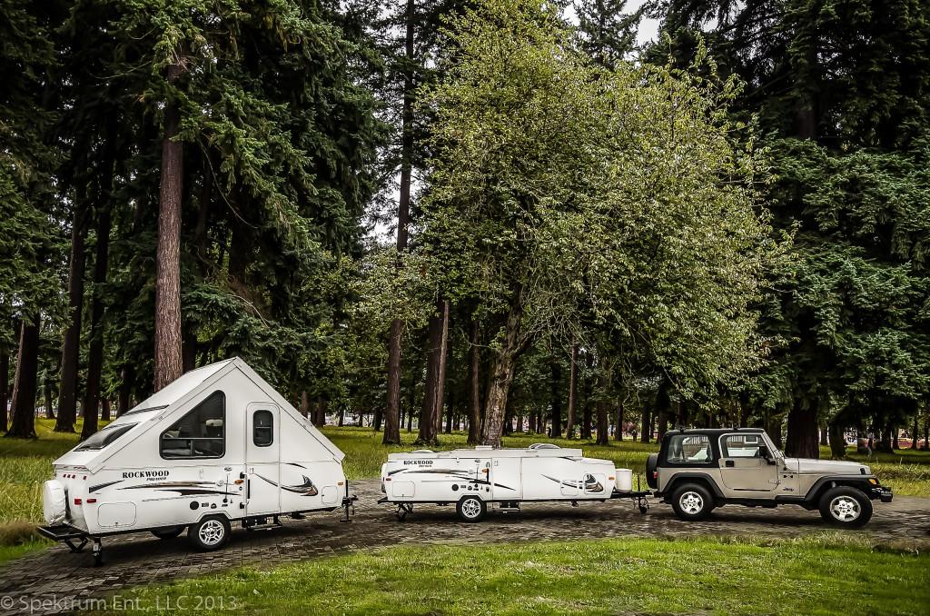 Rockwood Hard Side Tent Trailers
