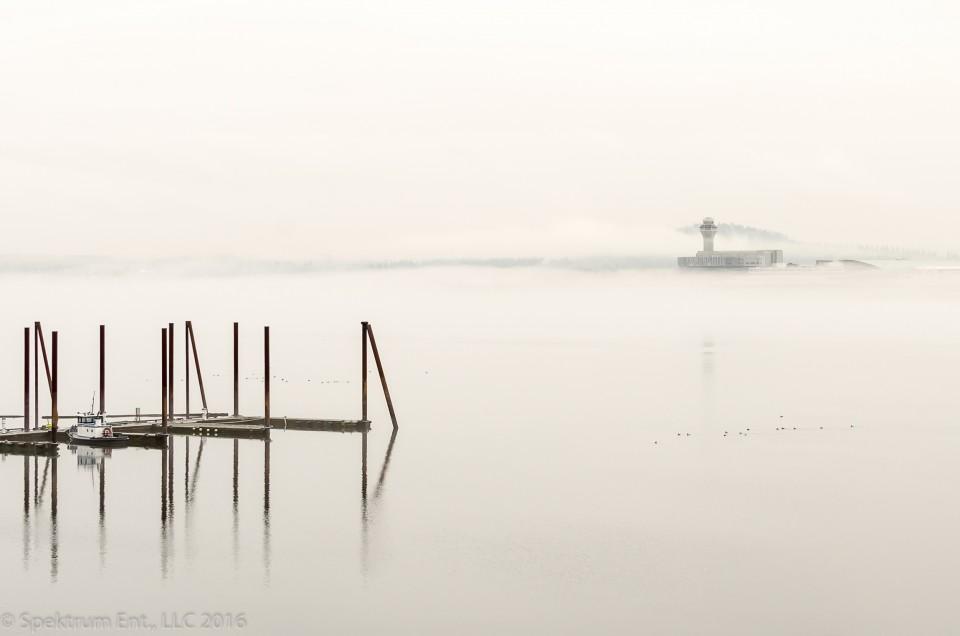 Just enjoy – Fog on the River